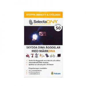 SelectaDNA MärkDNA – 50 föremål
