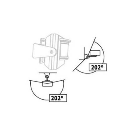 LMDT-810 trådlös Rörelsevakt, utomhus