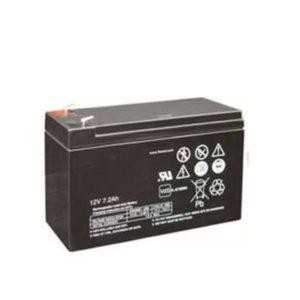 Backupbatteri – ventilreglerat blybatteri 12V 7,2Ah.