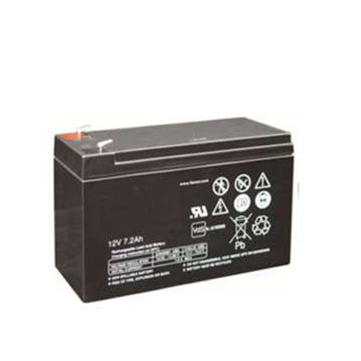 Backupbatteri ventilreglerat blybatteri 12V 7,2Ah.