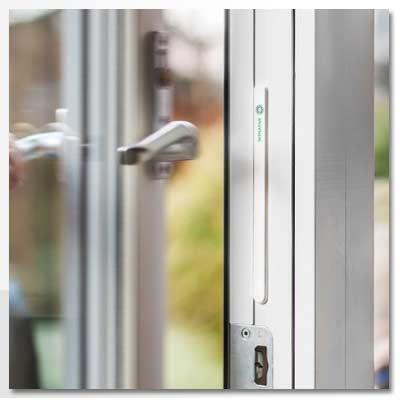 Magnet – Strips – den osynliga dörr- / fönstersensorn pkt – 3