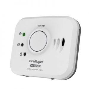 Fireangel Wi-Safe2 trådlös kolmonoxidvarnare, W2 CO-10X-EU
