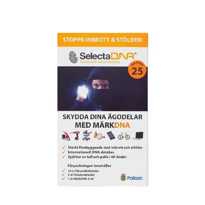 SelectaDNA MärkDNA – 25 föremål