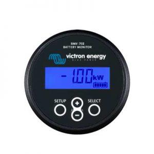 Batteri Monitor BMV-702 BLACK, kapacitet och laddningstillstånd