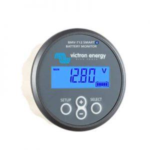 Batteri Monitor BMV-712 Smart, kapacitet och laddningstillstånd