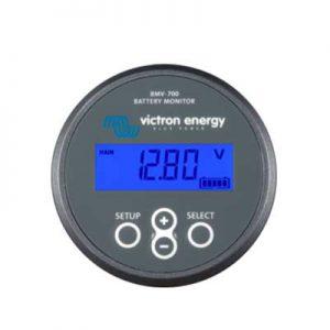 Batteri Monitor BMV-700, kapacitet och laddningstillstånd