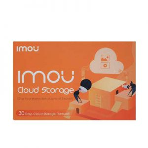 IMOU – 1 års förbetald molnlagring – 7 eller 30 dagars inspelning – kupong