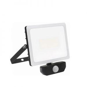 Ignis LED-strålkastare, 50W, IP65, PIR – Komplett med drivdon.
